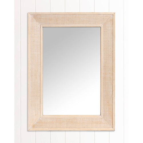 Mirror - Layla White Wash