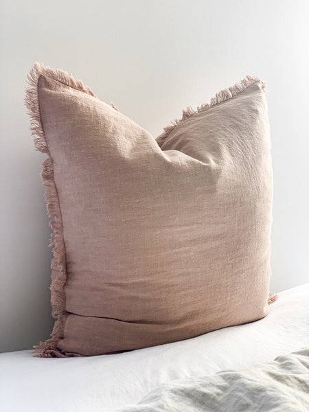 Ramie Cushion - Blush