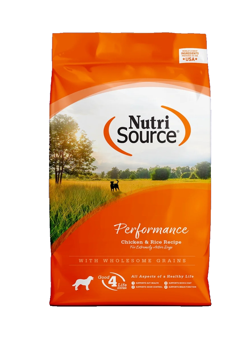 Nutri Source Performance Chicken & Rice Recipe 40 Lb