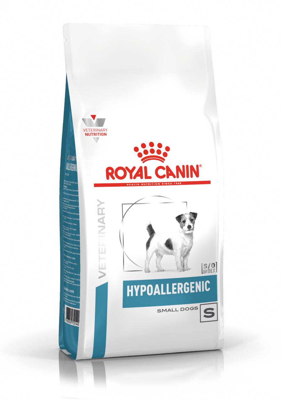 ROYAL CANIN  HYPOALLERGENIC SMALL DOGS 3.5 Kg