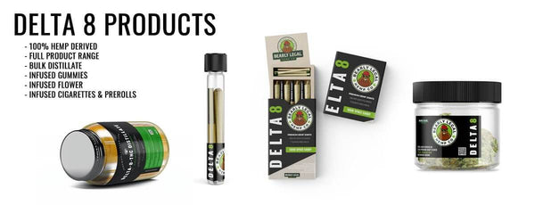 Wholesale Delta 8 THC Products - 100% Legal - Hemp Derived