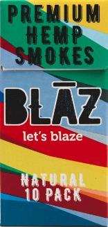 Blaz - Hemp Cigarettes 10 per Pack - Original Blend - Wholesale Cartons - HempWholesaler.com