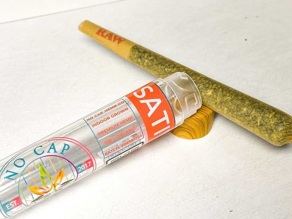 Bubba Kush - Indoor Premium Joint 1.5 Gram - No Cap Hemp Co - HempWholesaler.com
