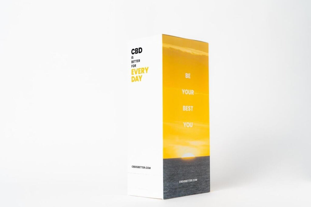 CBD Is Better For Everyday – 30 Pack Display (2 Softgels per Pack) - HempWholesaler.com