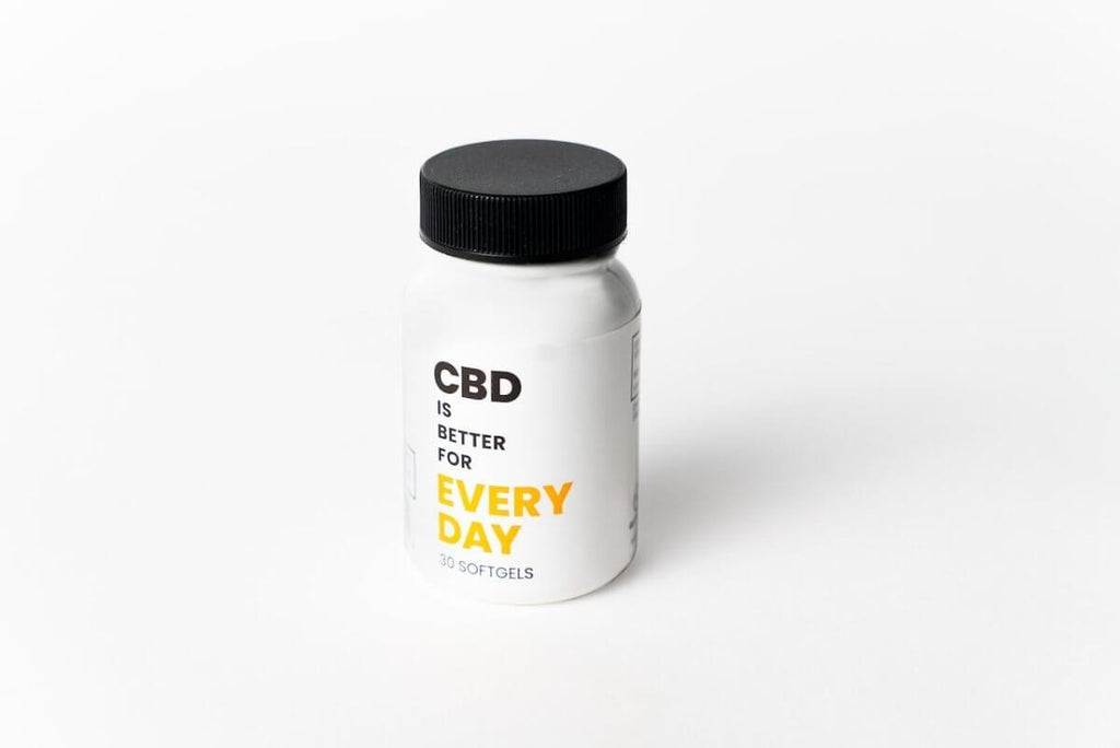 CBD Is Better For You Everday - 30 Soft Gels - 25mg - HempWholesaler.com