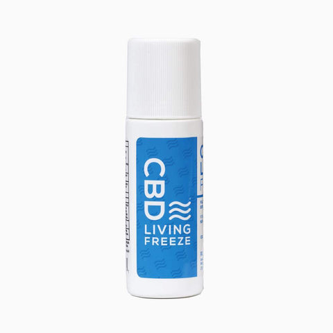 CBD Living Freeze Roll On Topical 250mg Nano CBD - HempWholesaler.com