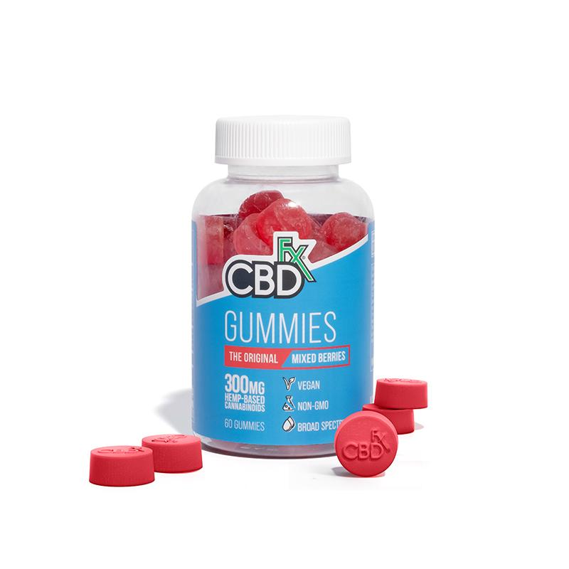 CBDFX Mixed Berry Gummy - 1500mg - HempWholesaler.com