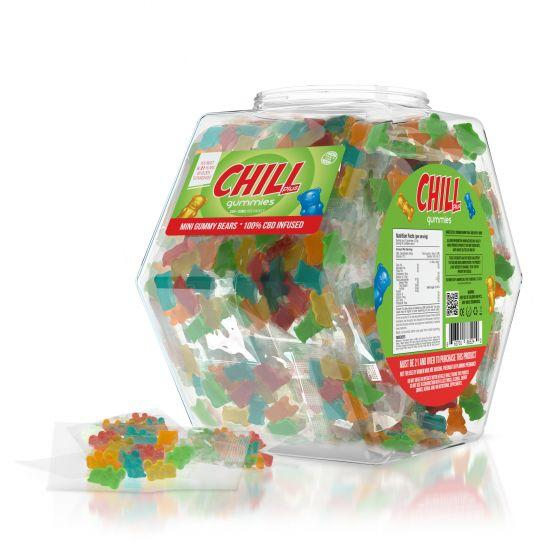 Chill PLus POP Counter Display - 100pack - HempWholesaler.com