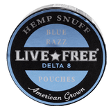 Concentrated Concepts Delta 8 Blue Razz Pouches - HempWholesaler.com