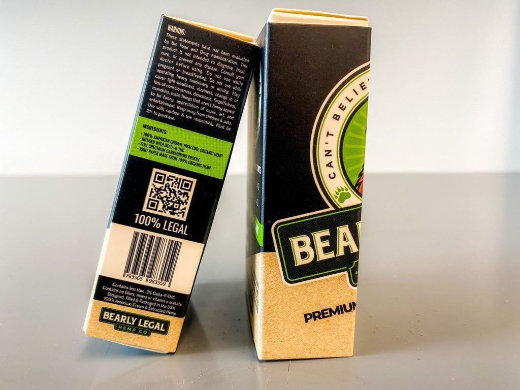 Delta 8 THC Infused Keif Joints Mini 84mm Size (10 per Pack) - HempWholesaler.com