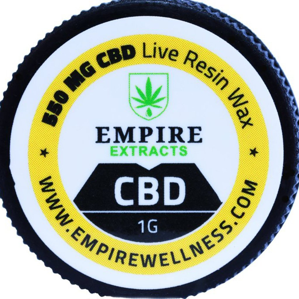 Empire Wellness Live Resin Wax Dabs - 1 Gram - HempWholesaler.com