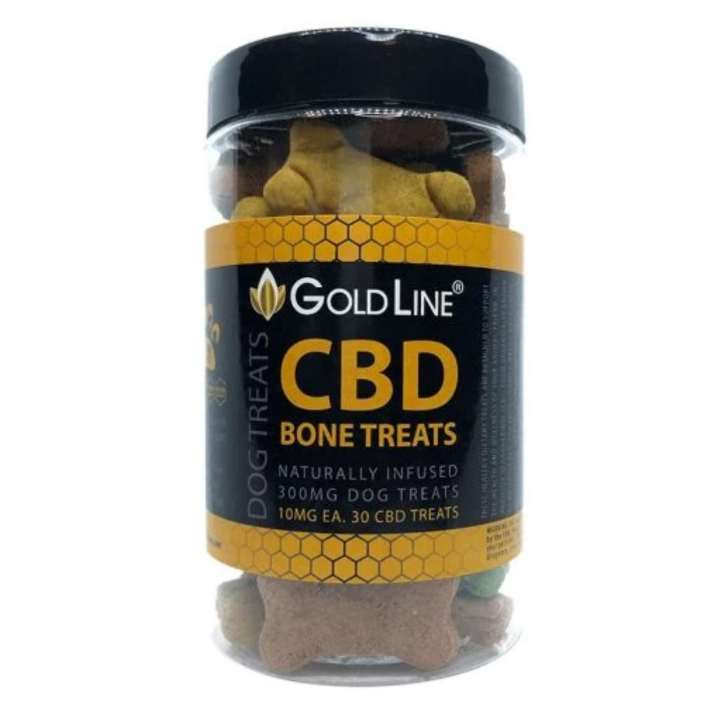 Gold Line CBD Dog Treats - HempWholesaler.com