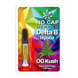 No Cap Hemp Co Delta 8 THC Vape Cartridge 1ml - OG Kush