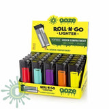 Ooze Roll-N-Go Lighter Display - 25 Pack