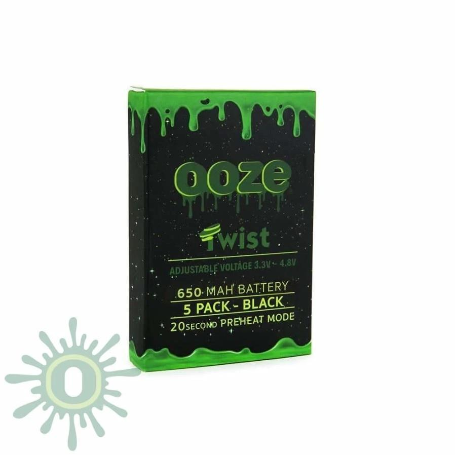 Ooze Twist 510 Batteries - 5 Pack - HempWholesaler.com