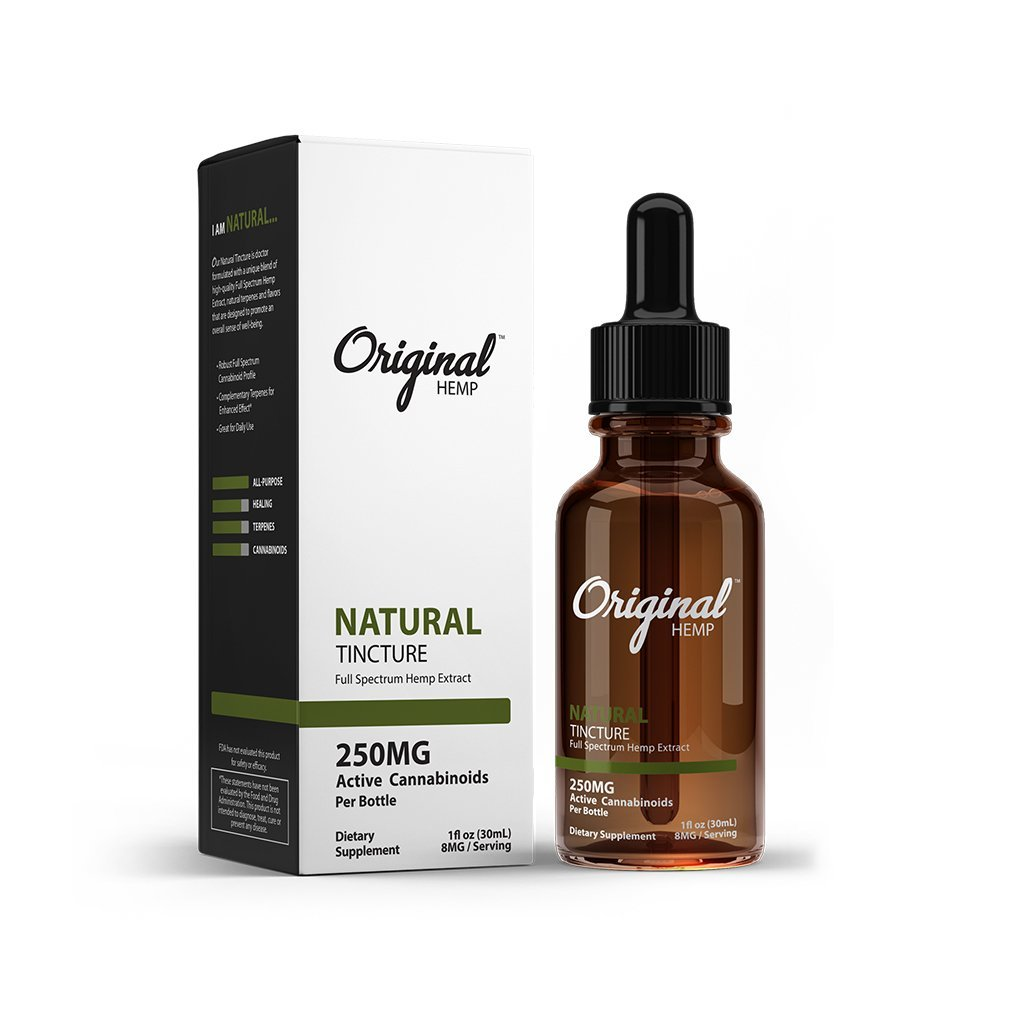 Original Hemp Tinctures 30ml Bottle - HempWholesaler.com