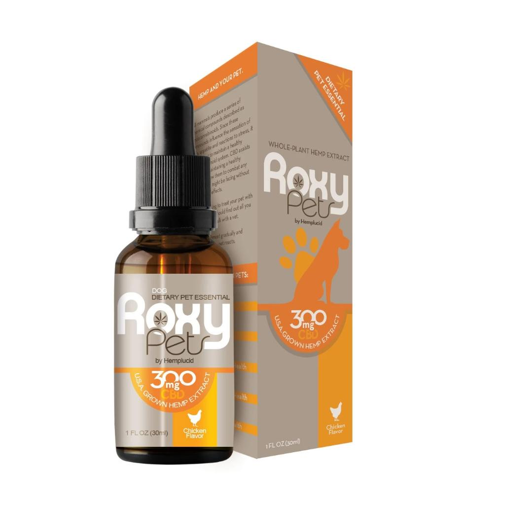 Roxy Pets for Dogs - 30ml Bottle - HempWholesaler.com
