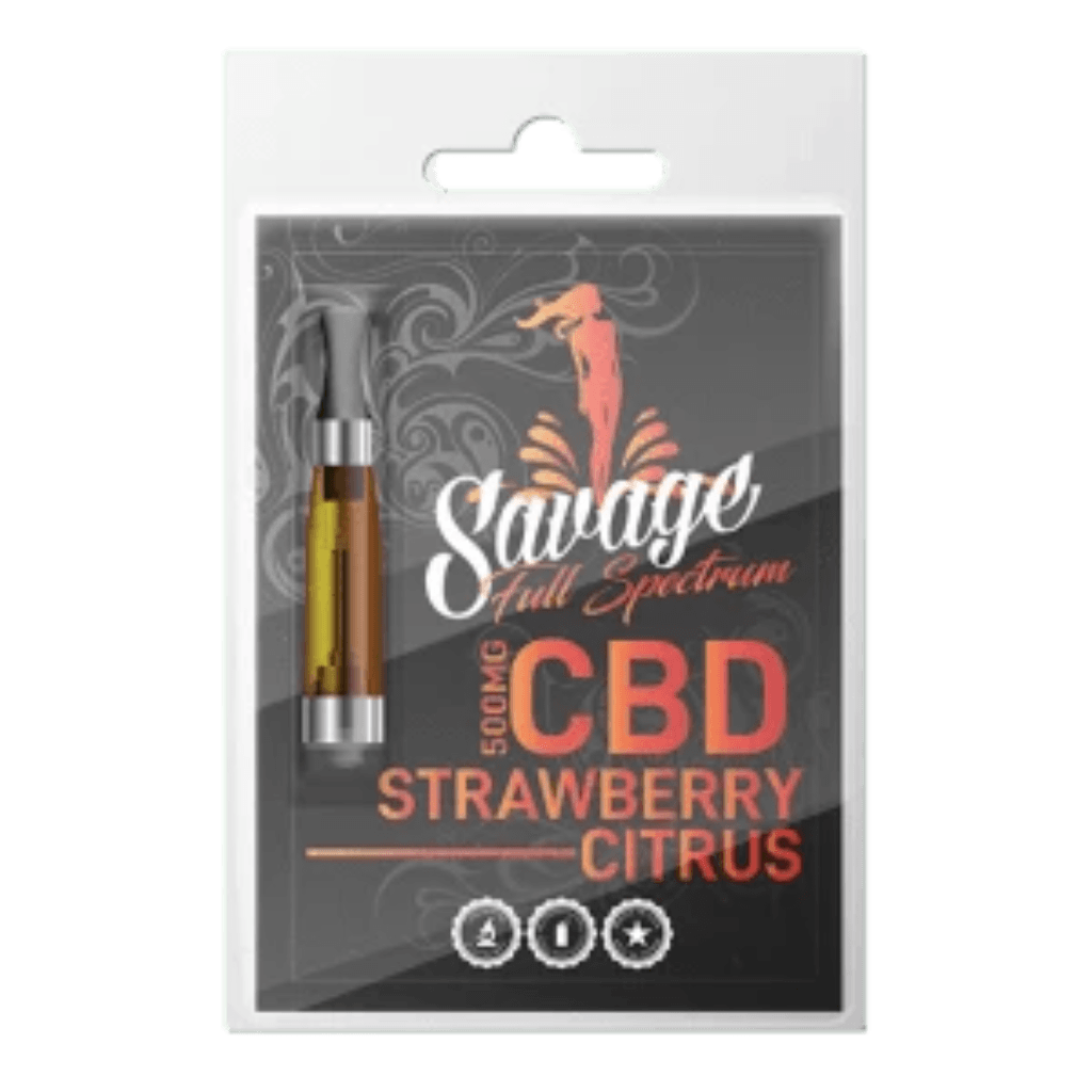 Savage CBD Full Spectrum CBD Cartridges - HempWholesaler.com