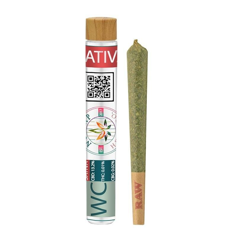 Wedding Cake - Indoor Premium Joint 1.5 Gram - No Cap Hemp Co - HempWholesaler.com