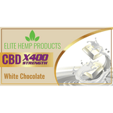 Elite CBD Chocolate Bar -Single Bar 400mg (New Flavors)