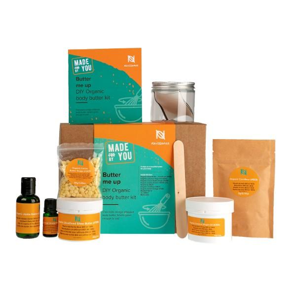 Butter Me Up - Kit Burro corpo biologico fai-da-te