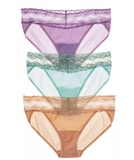 Natori Bliss Perfection V-Kinis, 3 for $48,  756092