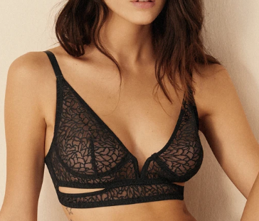Elsa Zoe Cut Out Soft Cup Bra EC-450B