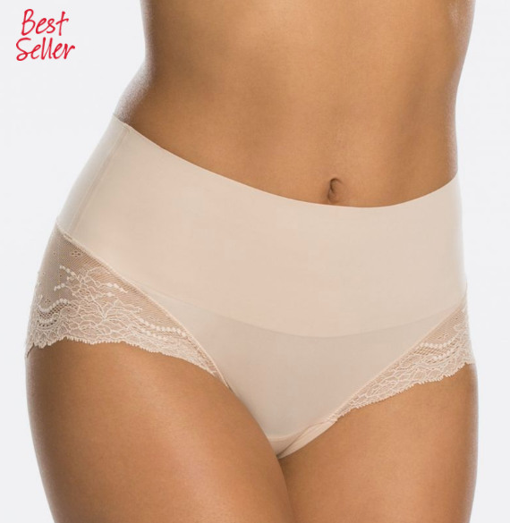 Spanx Undie-Tectable Lace Hi-Hipster Panty SP0515