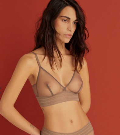 Elsa Bare Soft Triangle Bra EC-430B