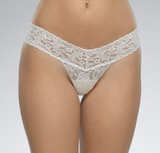 Hanky Panky Rolled Signature Lace Low Rise Thong 4911P