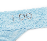 Hanky Panky I DO Low Rise Thong with Swarovski® Crystals 6510