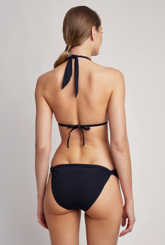 Lenny Niemeyer Black Adjustable Bikini Bottom CA139A