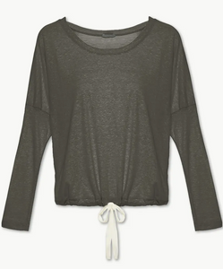 Eberjey Heather Cotton Blend Slouchy Top