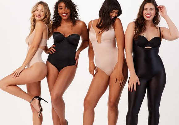 Suit Your Fancy Plunge Low-Back Thong Bodysuit