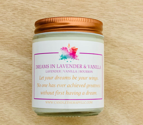 DREAMS IN LAVENDER & VANILLA