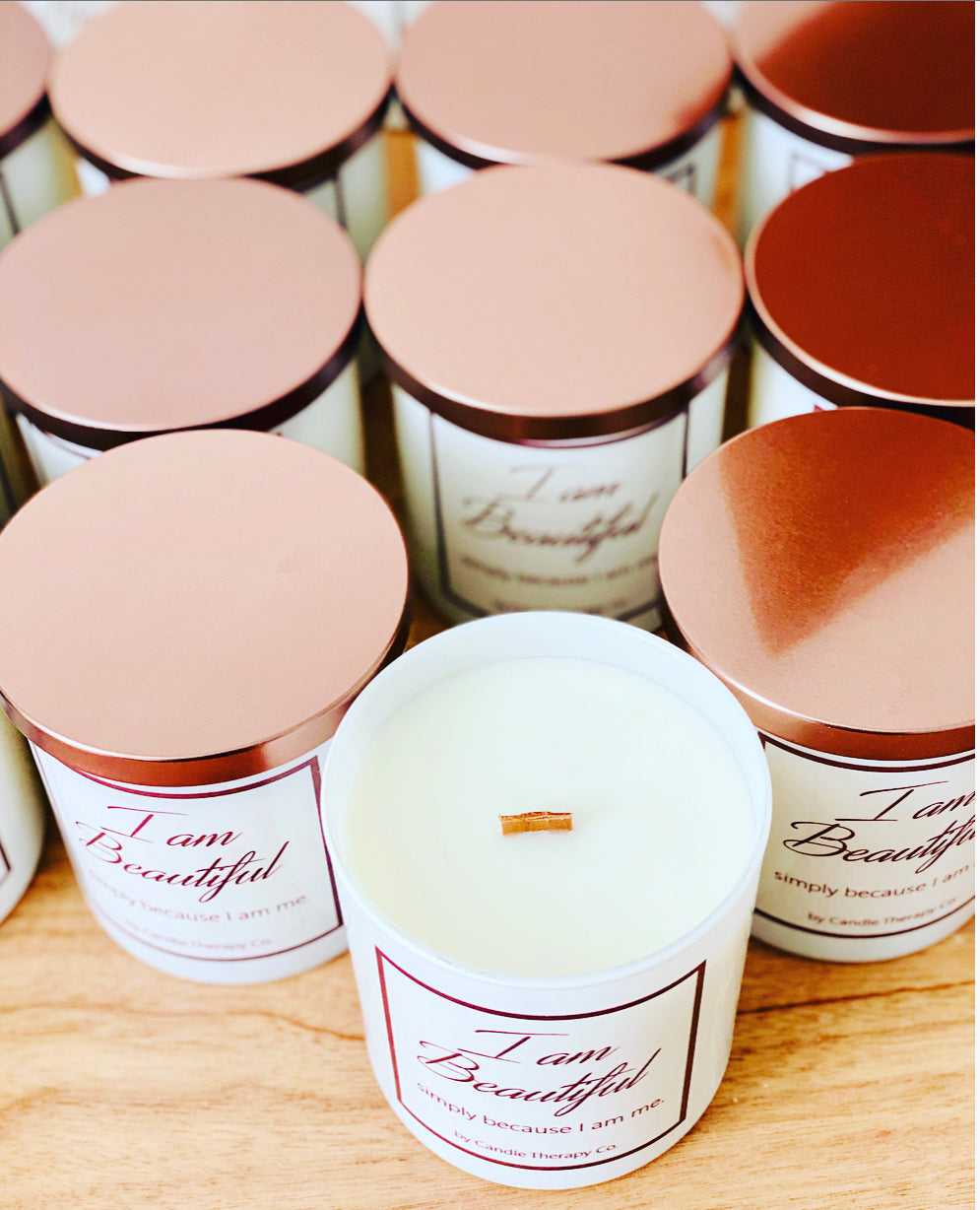 Daily Affirmation Candle -  I am Beautiful