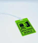 "Wolters World ""Lime Green"" Luggage Tag"