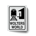 Wolters World Sticker