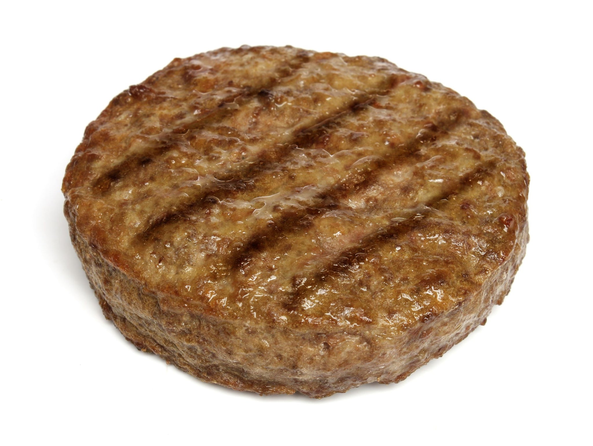 Fire River Farms Frozen Homestyle Beef Burger 5.3 oz - 60 Pack [$1.92/each]