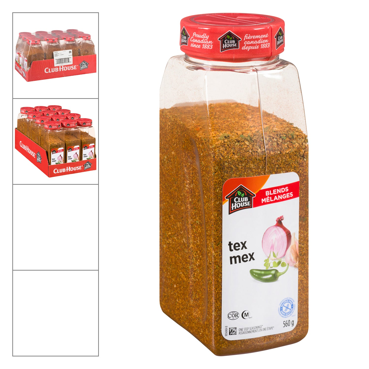 Club House Tex Mex Seasoning 560 g - 1 Pack [$13.99/each]