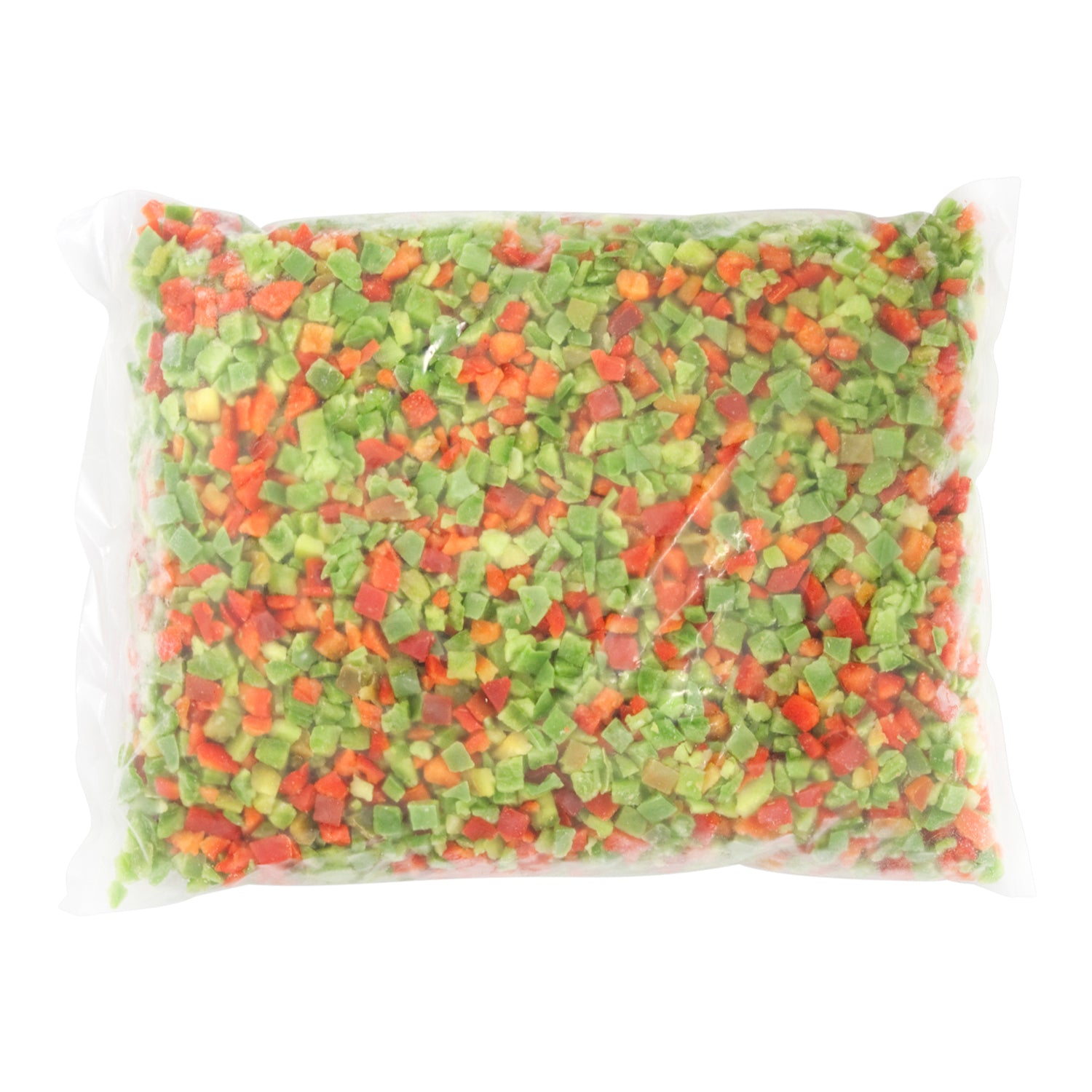 Alasko Frozen Diced Green and Red Bell Peppers 2 kg - 6 Pack [$3.83/kg]