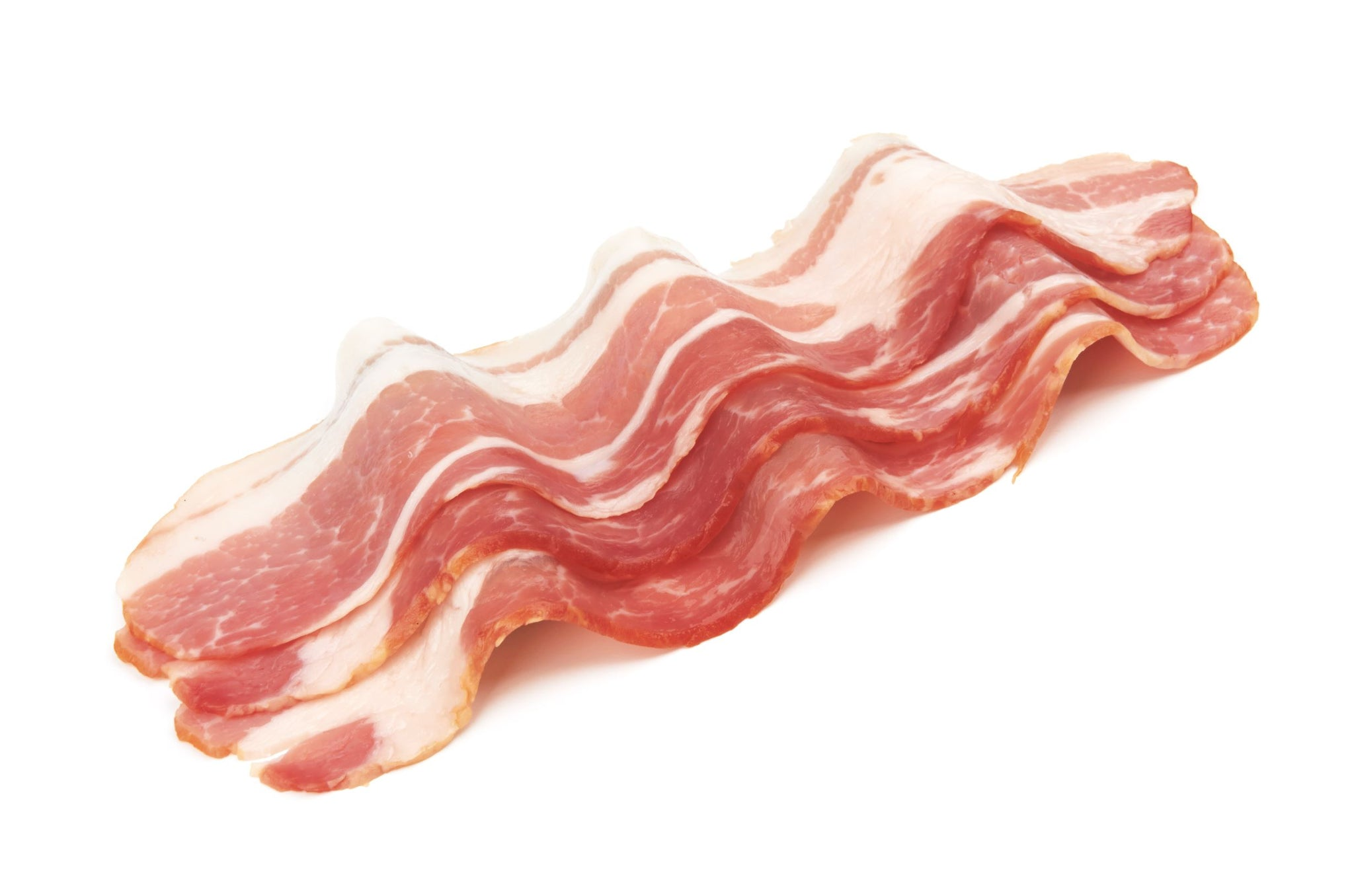 Sysco Classic Fresh Medium Sliced Centre Cut Bacon 5 kg - 1 Pack [$11.80/kg]