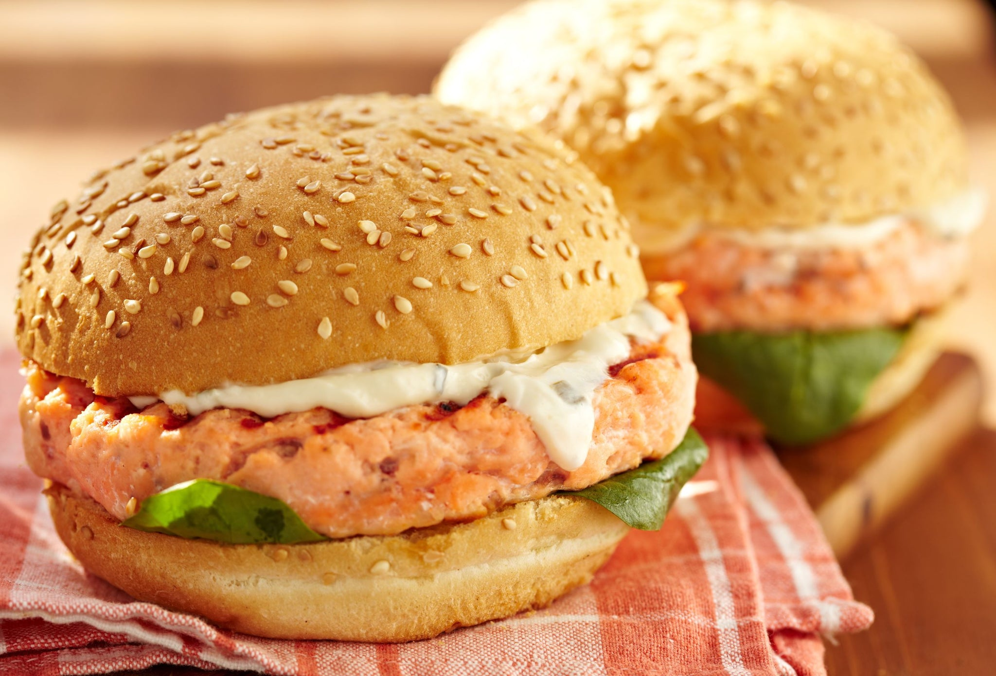 Portico Prime Individually Quick Frozen Wild Alaskan Salmon Burger 3.2 oz - 10 lb - 1 Pack [$10.10/lb]