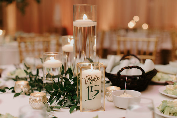custom wedding table number