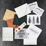 fathers day greeting card pack