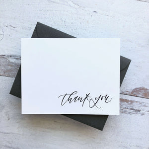 "Greeting Card ""thank you"""