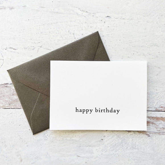Greeting Card Minimalist