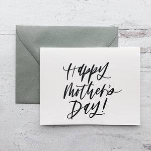 """Greeting Card """"Happy Mother's Day"""""""
