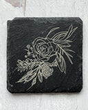 Engraved Slate Coasters (set of 4)