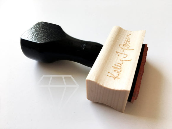 Signature Stamp, Wooden or Self-Inking